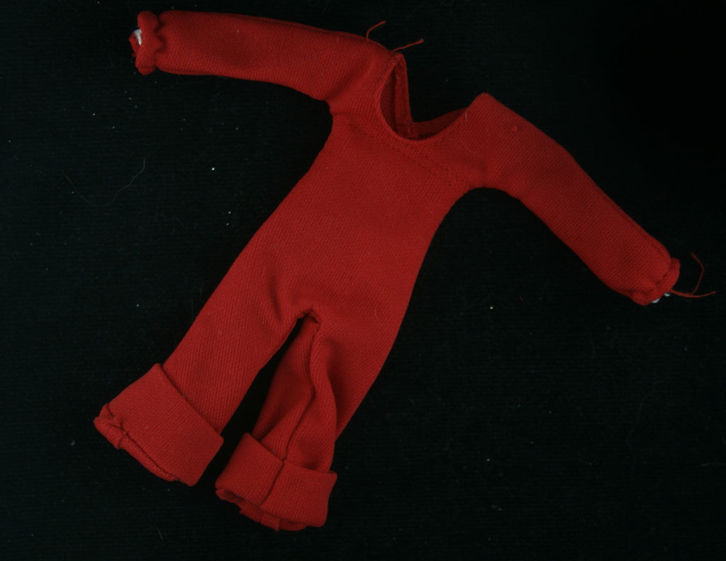 Hasbro Charlies Angels Stock Outfit -- Red Jumpsuit