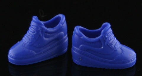 Barbie Size Shoes -- Royal Blue High Top Sneakers -- Modern