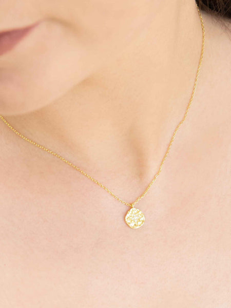 Long Gem Necklace