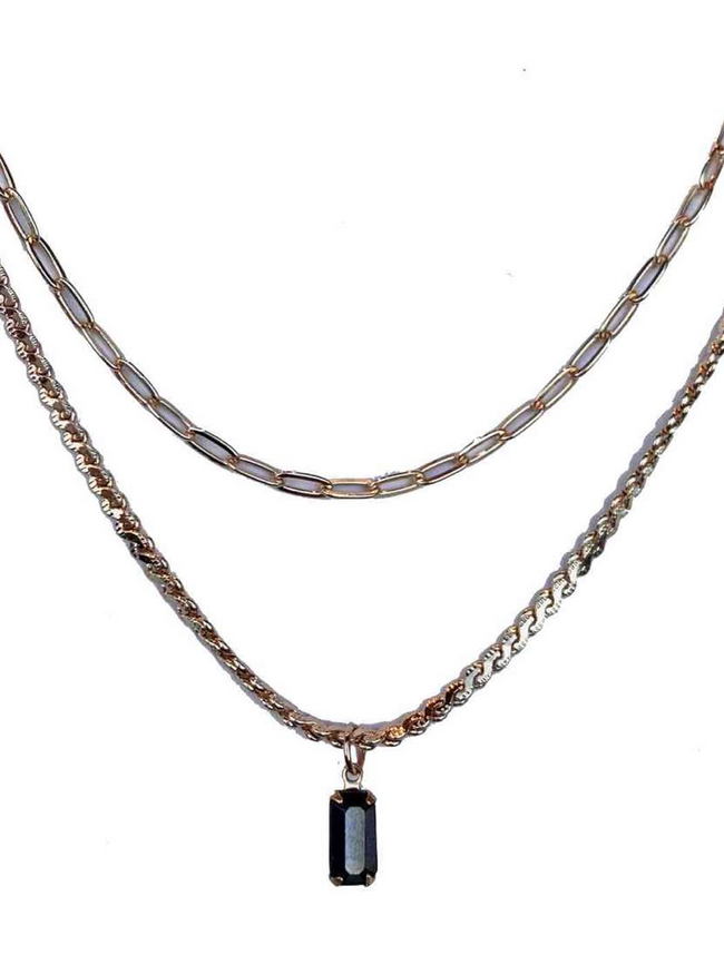 2 Layer Nouveau Necklace