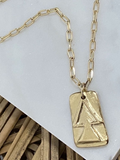 Balance Symbol Necklace