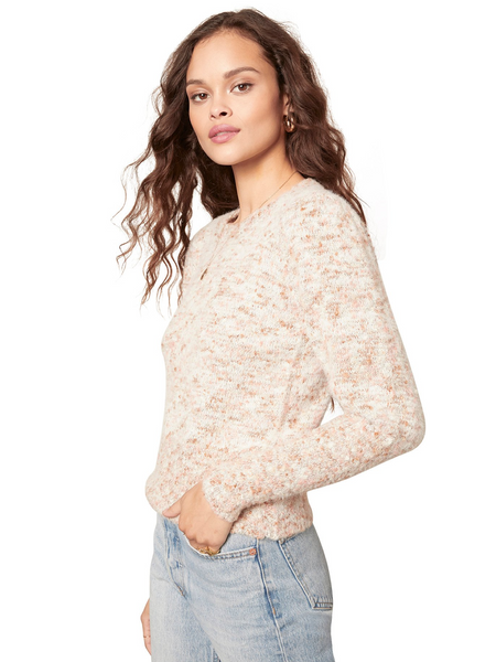 Speckled Knit Sweater