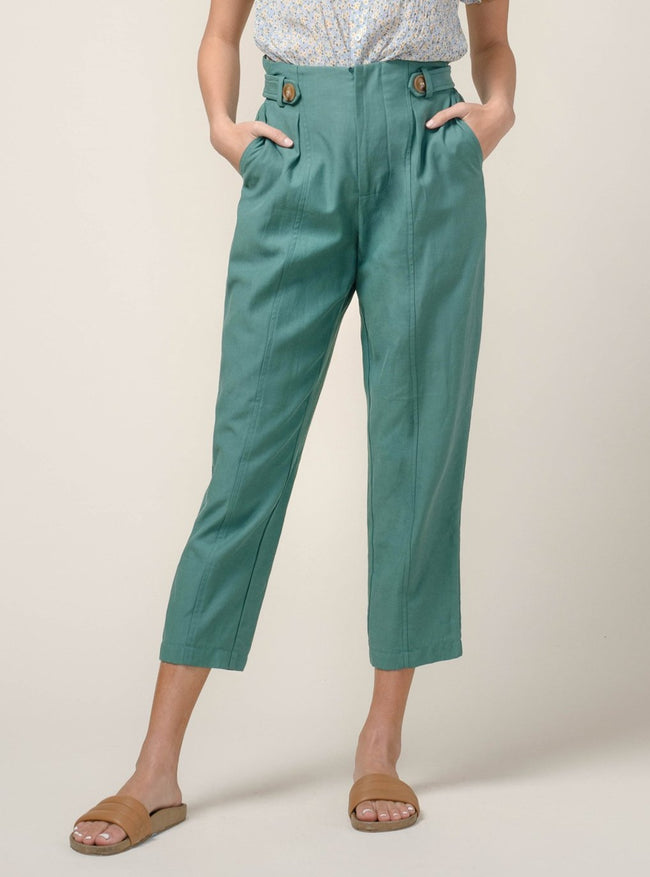 Lilian High Waist Tapered Pant