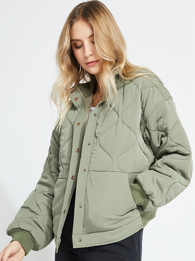 Quinn Jacket- Dusty Sage