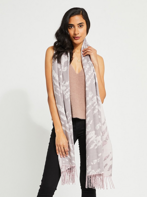 Joie Scarf l Blush Animal