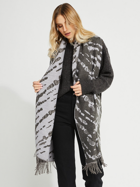 Joie Scarf l Grey Animal