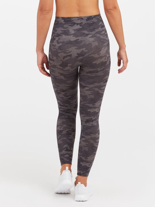 Look At Me Now Leggings Heather Grey Camo