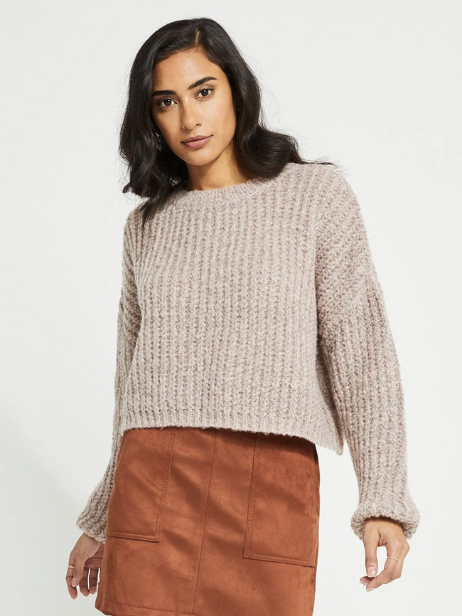 Parvene Sweater- Mink