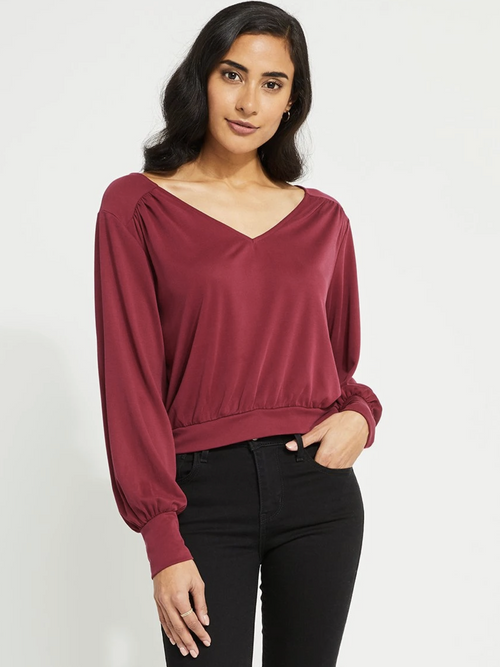 Lucy Top l Magenta