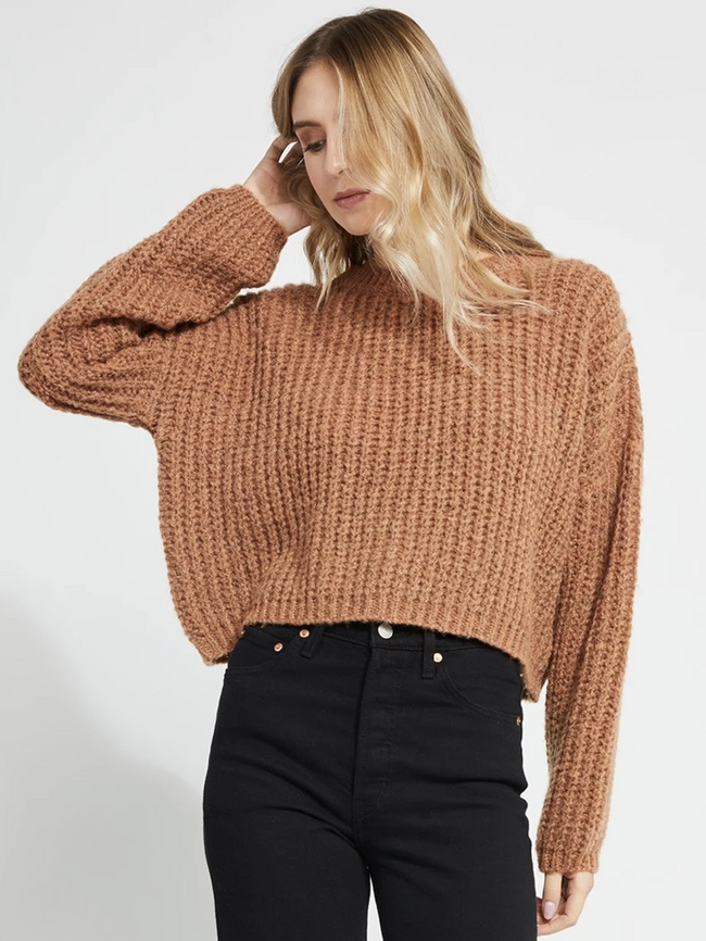 Parvene Sweater- Gold