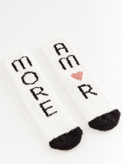 Amor Plush Socks