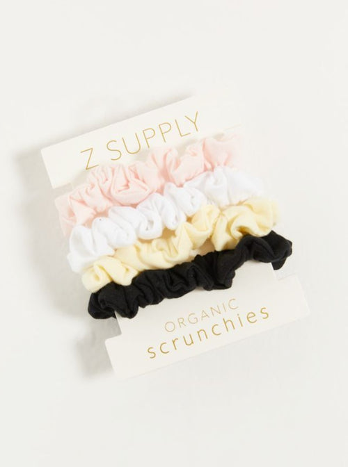 Organic Scrunchies | 4 Pack