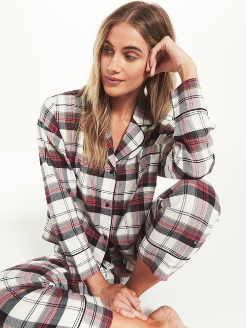 Dream State Plaid PJ Set l Plaid