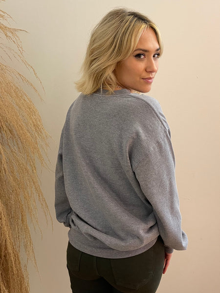 NASH Vintage Campus Pullover Purple