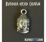 Buddha Head Charm totem talisman symbol properties & meanings guide.