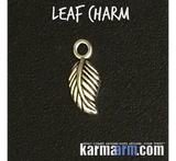 Leaf Charm totem talisman symbol properties & meanings guide.