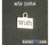 Wish Charm Men's Women's Yoga Bracelets.