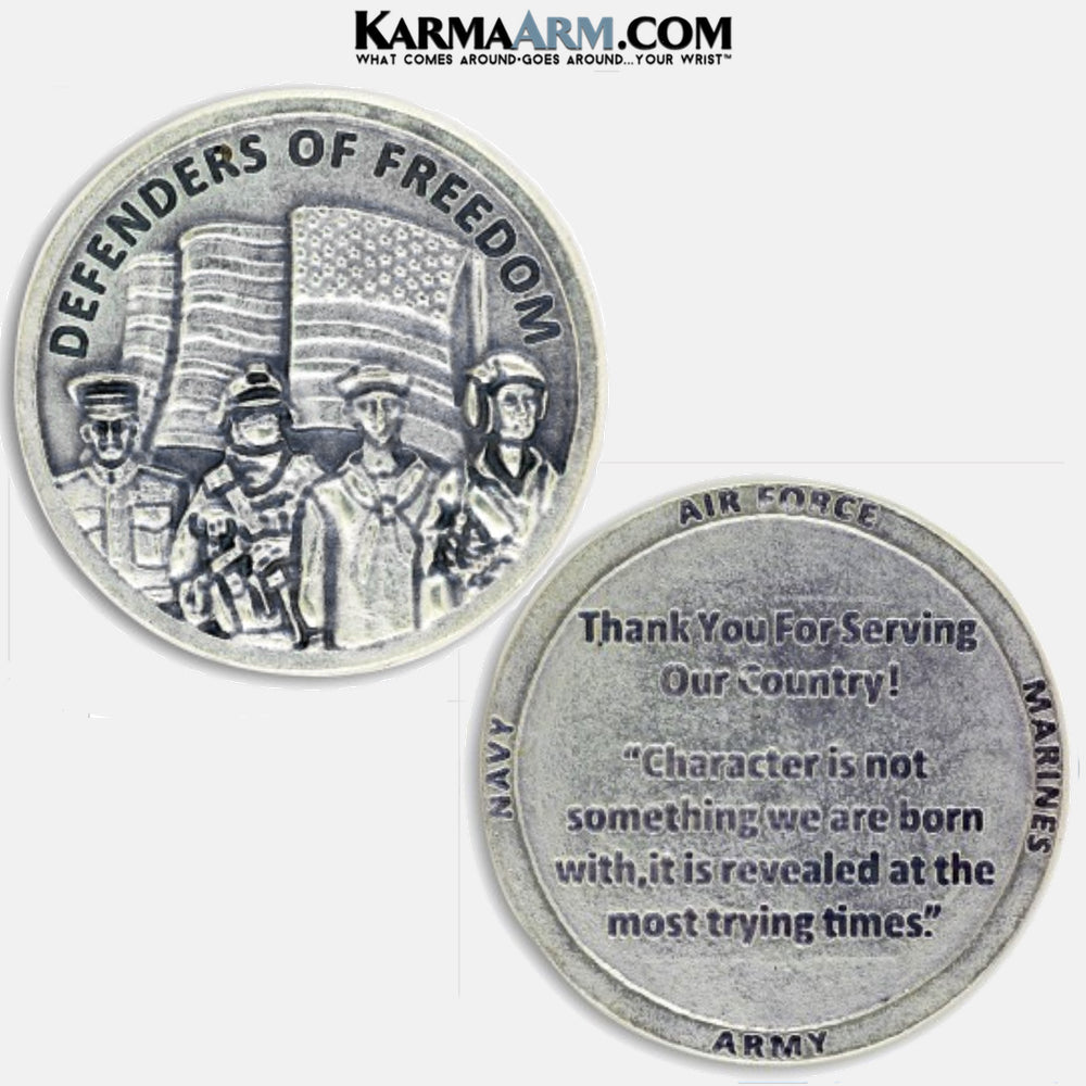 Military Heroes | DEFENDERS OF FREEDOM | Army | Air Force | Marines | Navy Coin