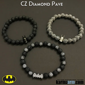 Batman Bracelets. SuperHero Dark Knight. Lego Movie DC Comics Beaded Jewelry.