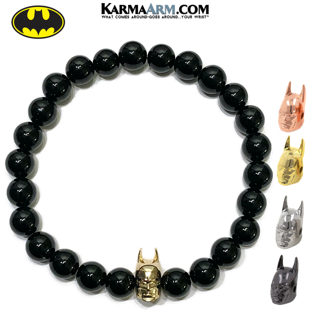 BATMAN | Black Onyx | Superhero Bracelet