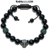 Black Panther Cartier Meditation Self-Care Wellness  Yoga Bracelets. Mens Wristband Jewelry. Black Onyx.