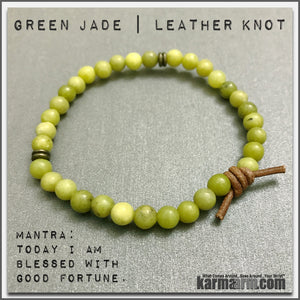Bracelets womens mens I Beaded & Charm Yoga Mala I Meditation & Mantra I Spiritual | karma arm. Green Jade. LOA. Law of Attraction.