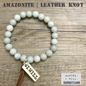 Charm Bracelets. Energy Healing. Handmade Men's Women's Luxury Beaded Mala & Jewelry. Law of Attraction. Manifest. #LOA.Blue Amazonite.