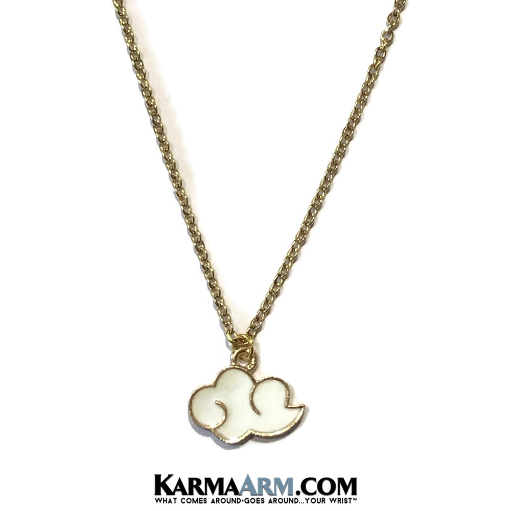 Cloud Necklace. Lucky Charm JuJu jewelry.
