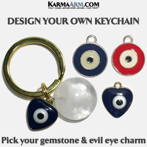 Keychain | DESIGN YOUR OWN | Evil Eye