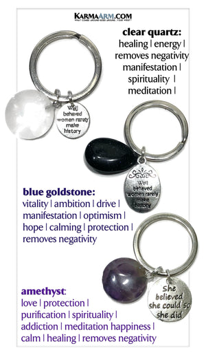 Feminist Mindfulness Meditation Wellness Yoga Self-Care Keychain Key Ring Chain Gifts.