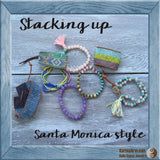 seed bead loom cuff bracelet - Seed Bead Wrap Cuff: Santa Monica Collection - Karma Arm. - 3