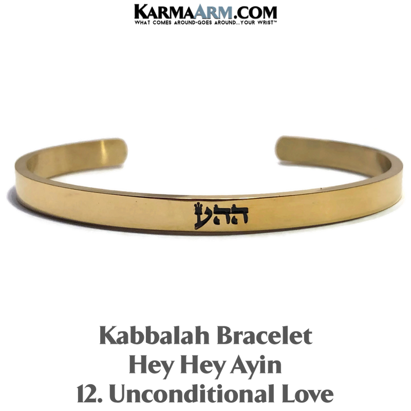 Kabbalah Hey Hey Ayin Unconditional love 72 names of Meditation Mantra Yoga Bracelets. Self-Care Wellness Wristband Jewelry.