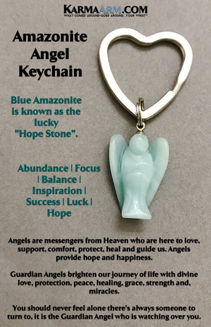 Keychains. Key rings. Reiki healing charm keyrings. Angel Key Ring.