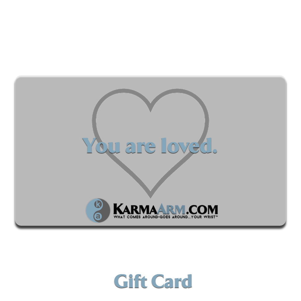 Love Gift Card Meditation Wellness Yoga Bracelets. Mens Wristband Jewelry.