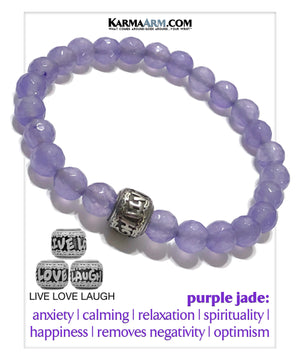 Yoga Bracelets. Meditation Self-Care  Chakra Reiki Energy Zen Mens Jewelry.