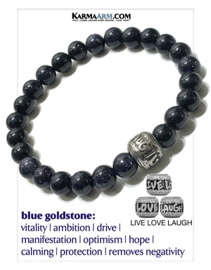 Meditation Yoga Bracelets | Self-Care Wellness Wristband | Bead Mens Jewelry.