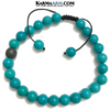 Meditation Mantra Self-Care Wellness Yoga Bracelets. Mens Wristband Jewelry. Turquoise hematite.