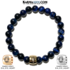 Yoga bracelets. Meditation self-care wellness mens bead wristband jewelry. copy