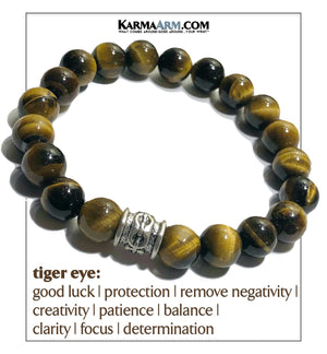 Yoga Bracelets. Meditation Self-Care Wellness Wristband. Bead Mala.