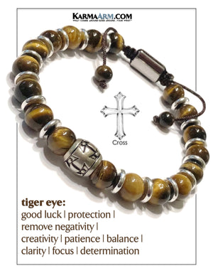 Meditation Mantra Yoga Bracelets. Mens Self-care wellness Wristband Jewelry. Tiger Eye.     copy