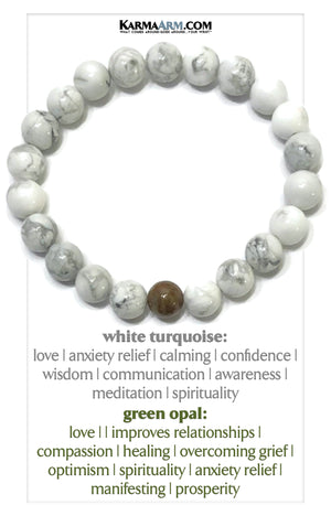 Love Bracelet Meditation Yoga Bracelets. Self-Care Wellness Wristband Mantra Jewelry.