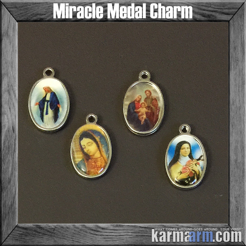 Miracle Medals Charm Talisman Icon Totem Symbol.