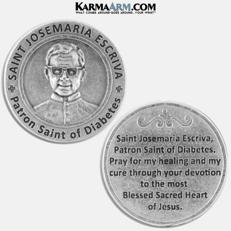 St. Josemaria Escriva | Patron Saint of Diabetes‎ | Healing Saints Token