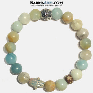 Custom / Bespoke | Surya | HAPPINESS | Amazonite Bracelet