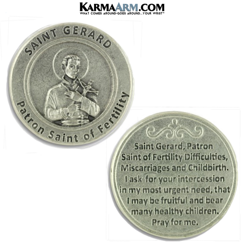 St. Gerald Pocket Token. Healing Saints | Prayer Tokens.  Patron Saint of Fertility.