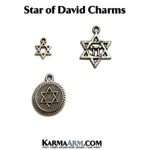 Star Of David Charms. Charme Bracelets. Charme Bracelets.