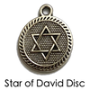 Star of David Charms Yoga Chakra Bracelets. Reiki Healing Jewelry.