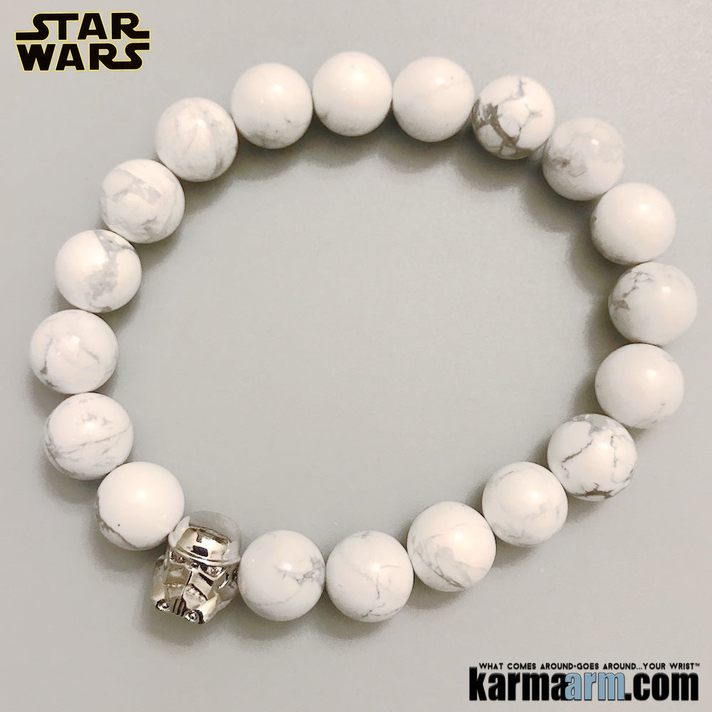 Star Wars Stormtrooper Bracelet. Superhero ComicCon CosPlay Jewelry.