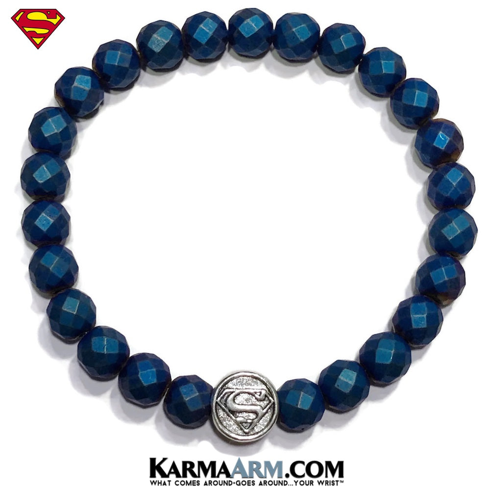 Superman Bracelets. Superhero Jewelry. CosPlay Bracelet. Comic-Con DC Comics Marvel Bracelet.