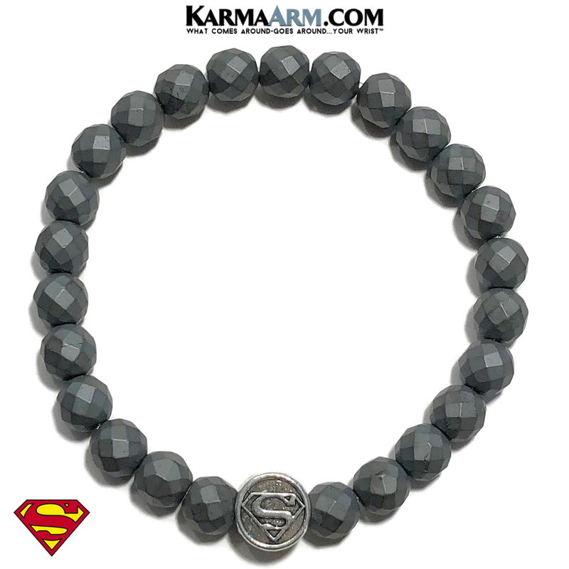 Superman bracelet. superhero jewelry. comic-con wristband Jewelry.